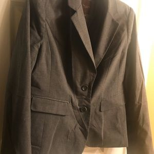 Limited Collection Gray 2 Button Blazer